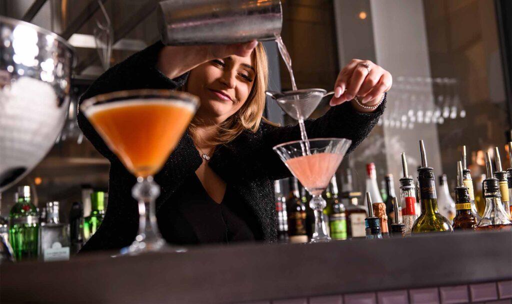 28-50 South Ken Making Cocktails