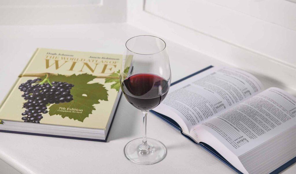 28-50 Draycott Avenue Glass Of Red Wine