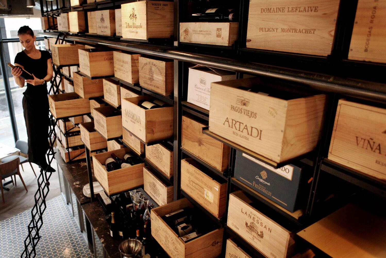 28-50 South Kensington Wine Storage