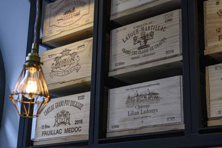 28-50 Vintage Wooden Wine Crates