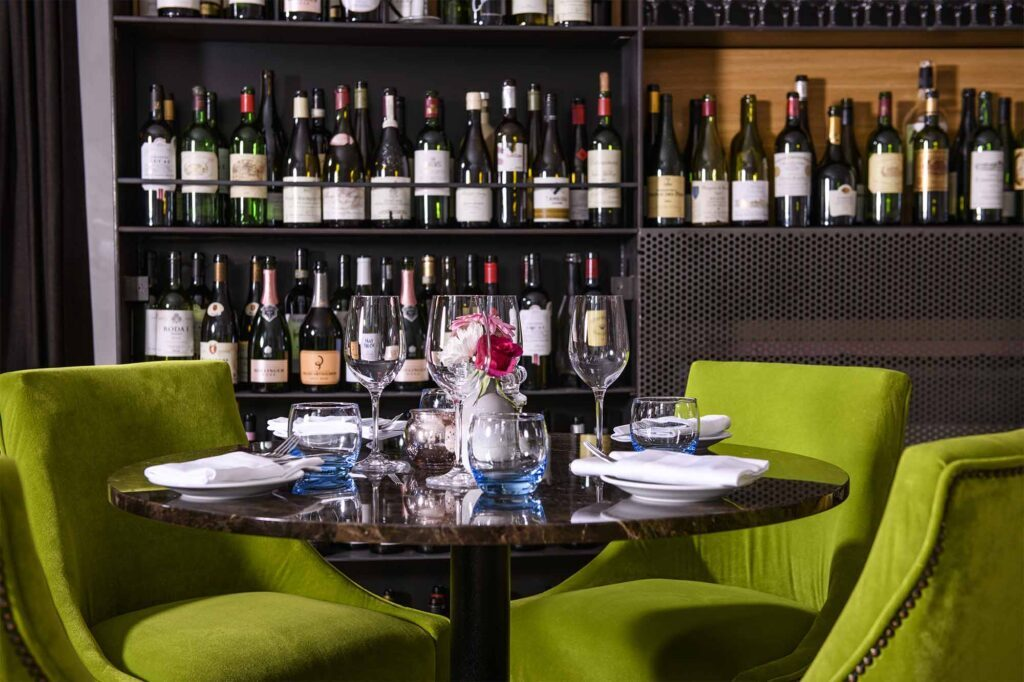 28-50 Draycott Avenue Wine Cabinet