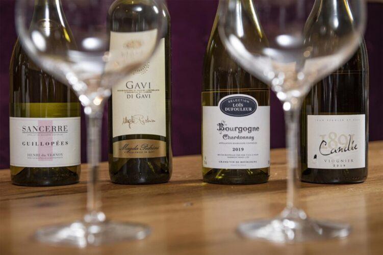 28-50 Chardonnay, Sancerre, Gavi, Candie
